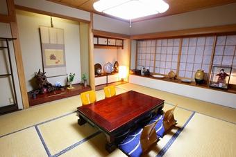 狭山市の割烹「喜代川」の個室「松」